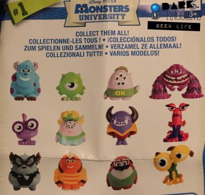 Tous les monstres à collectioner